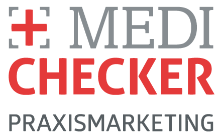 Medichecker Praxismarketing Logo